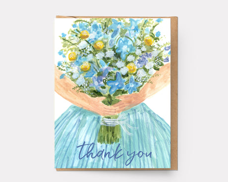 Thank You Dress | Greeting Card T-104
