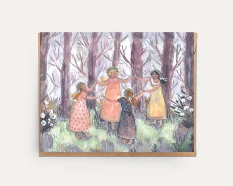 Forest Dance | Greeting Card U-136