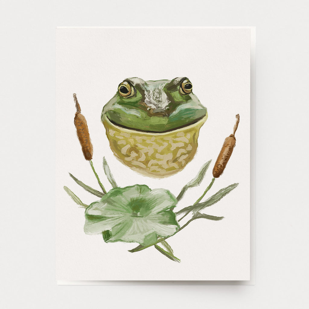 Frog Portrait Cards
