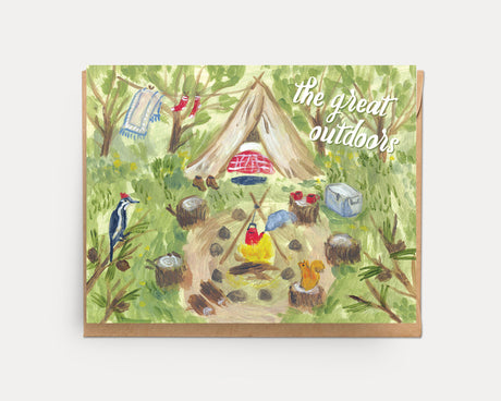 The Great Outdoors | Greeting Card N-103