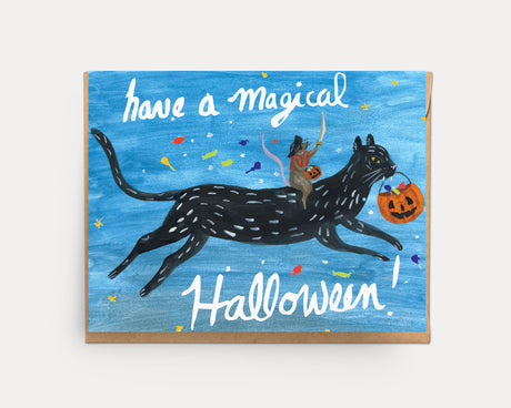 Halloween Cat | Greeting Card HA-101