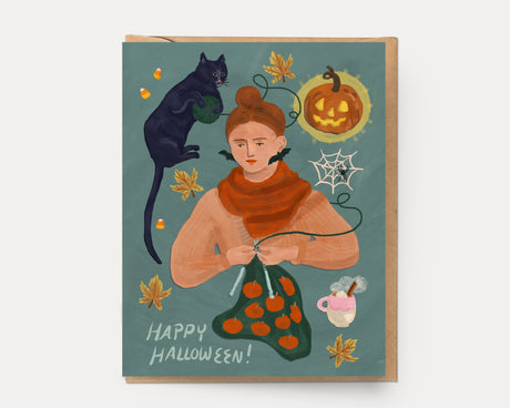 Halloween Girl | Greeting Card HA-106
