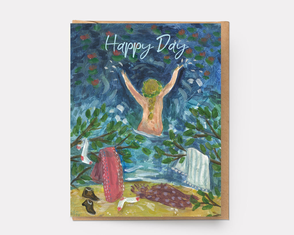Happy Day Swim | Greeting Card BD-102