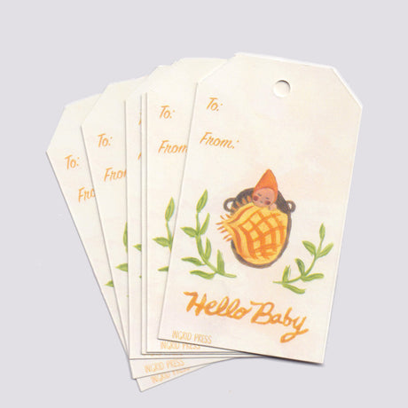 Hello Baby | Gift Tags