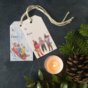Sleigh | Gift Tags - Pack of 6 Wholesale