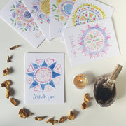 Thank You Mandala Collection | 6-card assorted set