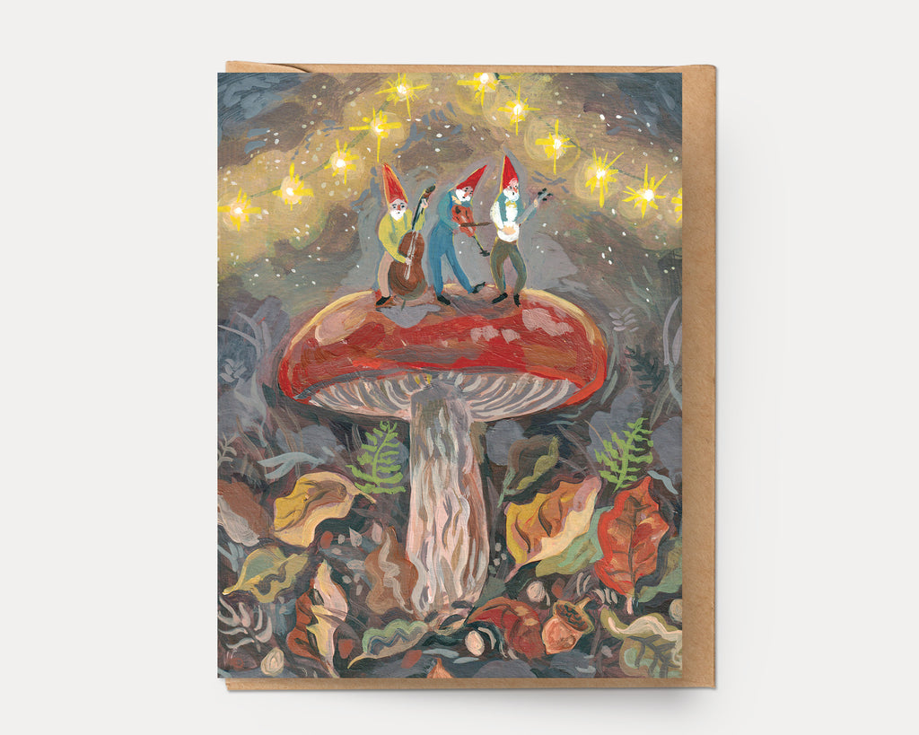 Mushroom Band | Greeting Card U-139