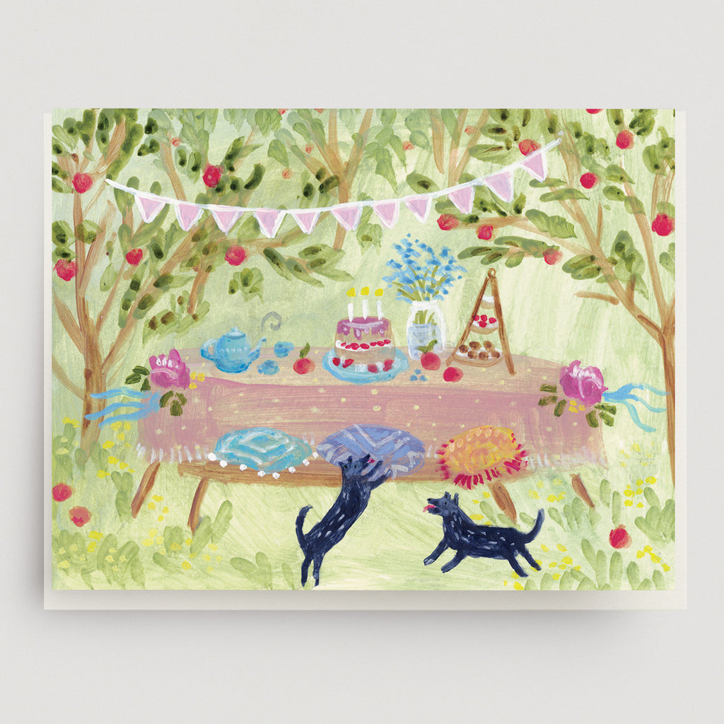 Orchard Party Card