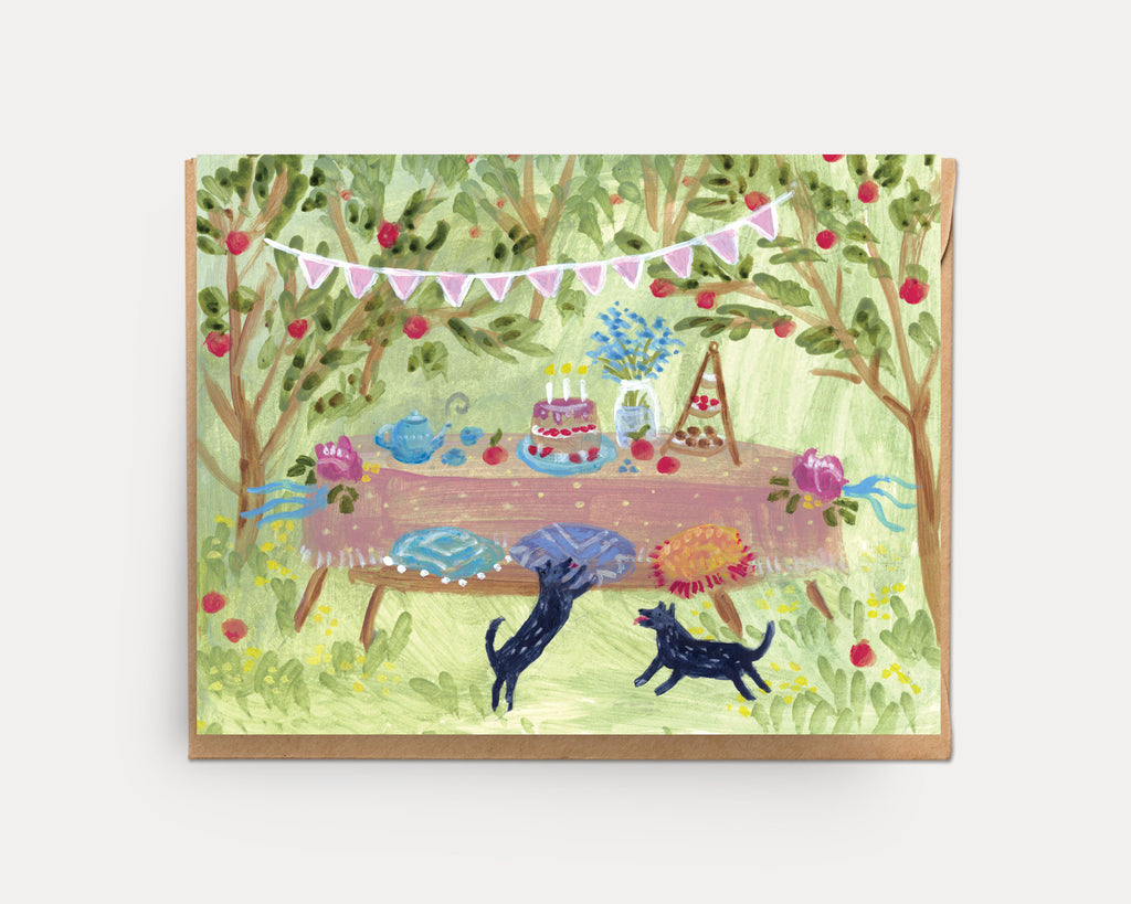 Orchard Party | Greeting Card U-125
