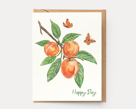 Peach Happy Day | Greeting Card BOT-105