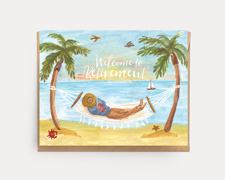 Retirement Hammock | Greeting Card C-105