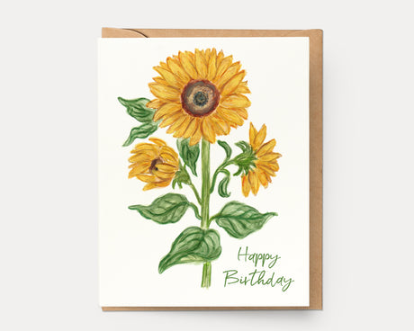 Sunflower Birthday | Greeting Card BOT-106