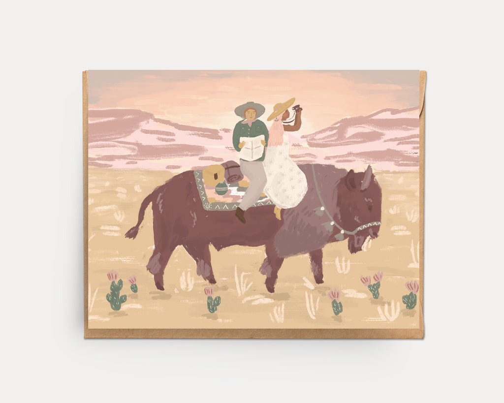 Together Buffalo | Greeting Card U-133