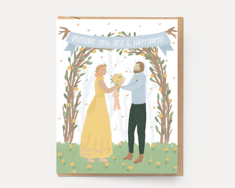 Wedding Arbor | Congrats Greeting Card C-104 Congrats