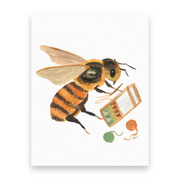 Weaving Bee | 10 Postcards