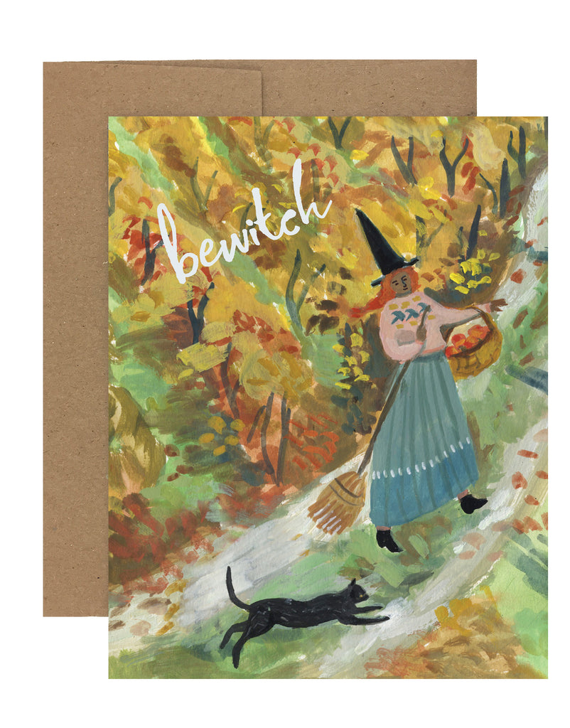 Sale! Bewitch Witch | Greeting Card HA-102
