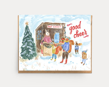 Cider Hut | Greeting Card H-107
