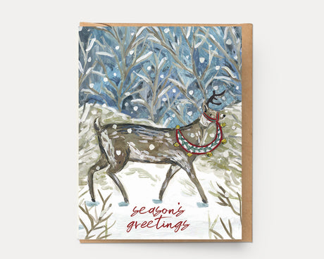 Holiday Reindeer | Greeting Card H-106