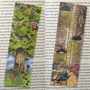 Library Tree Bookmark | 19 pt Silk Coated - BM-107