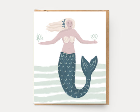 Mermaid | Greeting Card U-132 Everyday