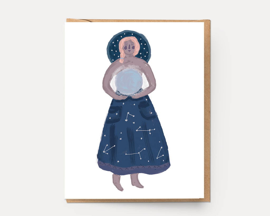 Moon Goddess | Greeting Card U-131 Everyday