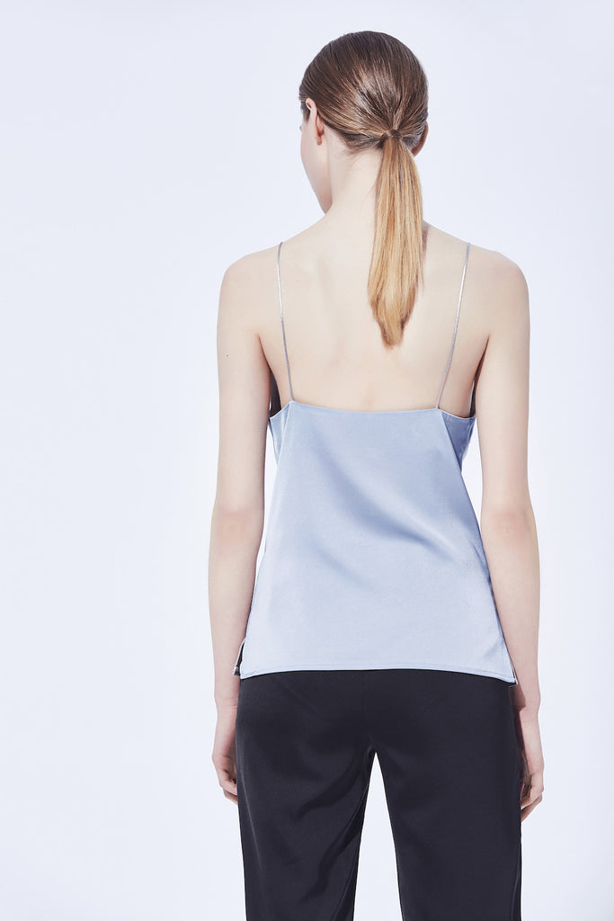 Cathleen Cami Top - Steel Blue