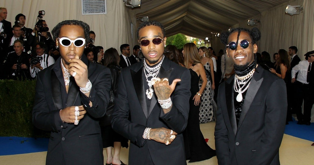 Of course #Migos wore matching #Versace suits to the #MetGala