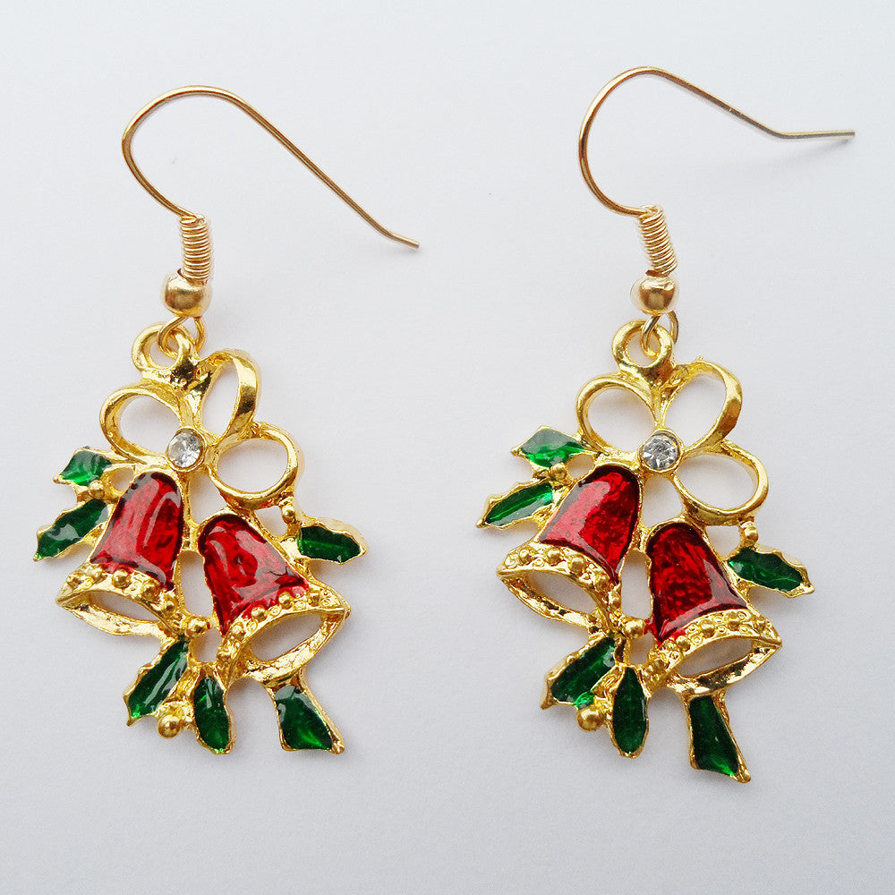 {2016 New Year gift,Fashion Christmas earrings ,Romantic style bell