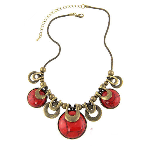 Choker Necklace For Women 2016 New Fashion Ethnic Vintage
