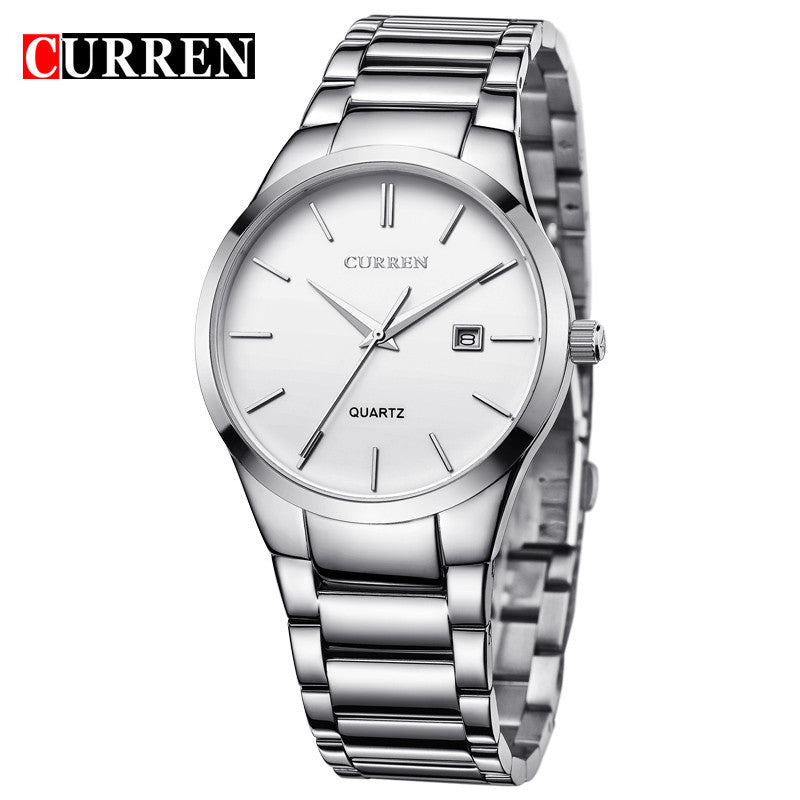 Curren Men Watches Top Brand Luxury Male Watch Full Steel Display Date