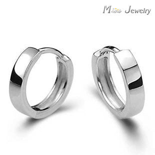 Free Shipping 925 Sterling Silver Clip Earrings Jewelry Fashion Silver