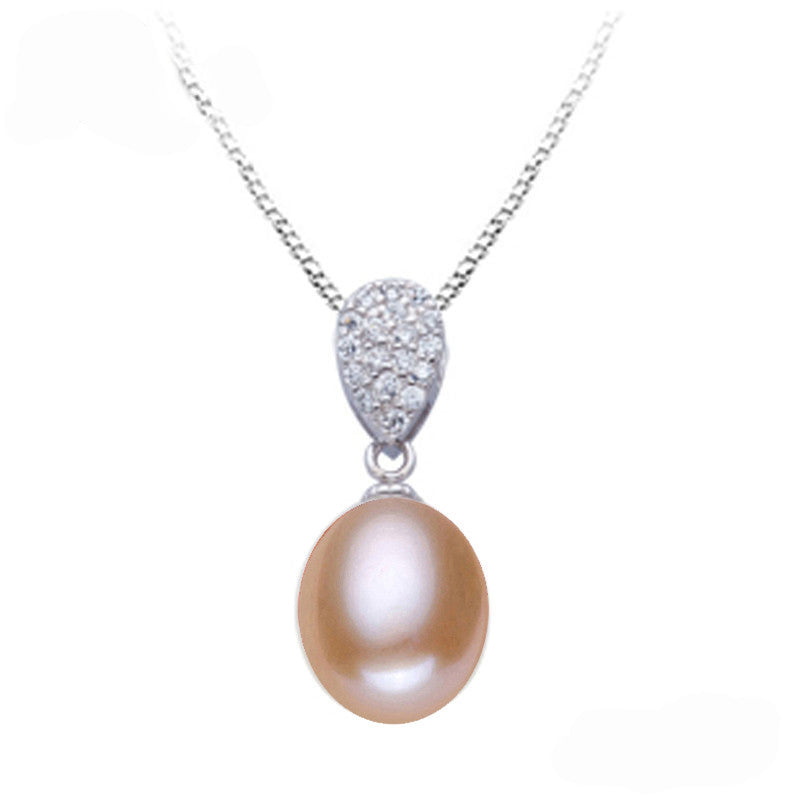 Classic freshwater pearl pendant jewelry women,genuine natural pearl