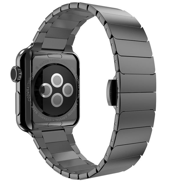 Link Bracelet for Apple Watch Band Stainless Steel Band with 1:1