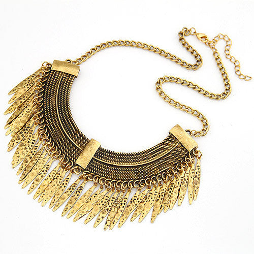 Statement Maxi Necklaces & Pendants Bijoux Collier Femme For Women