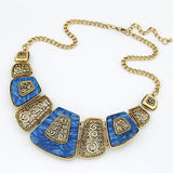 Collier Femme 2017 Fashion Statement Necklaces & Pendants Vintage Gold