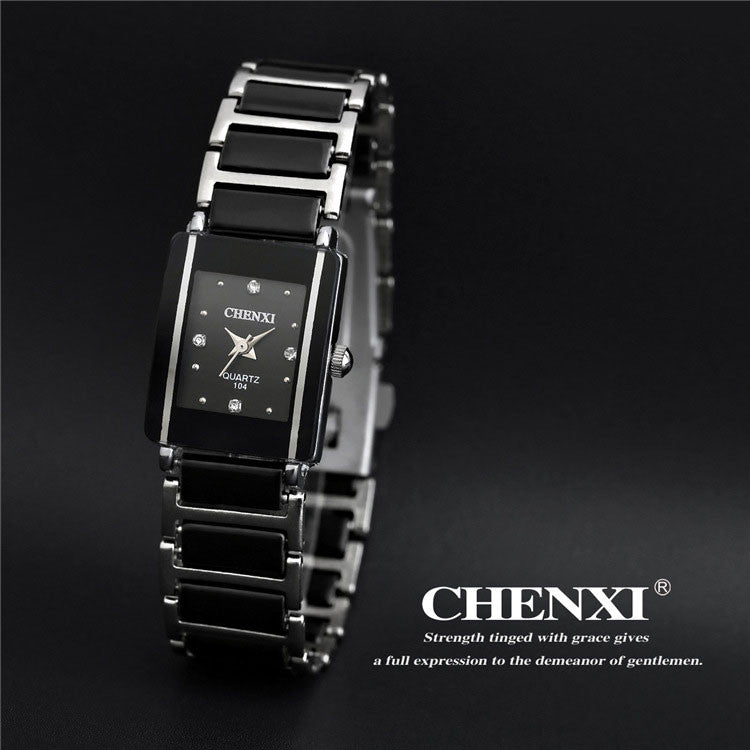 CHENXI 2016 Ceramic Wrist Watch Women Watches Ladies Brand Luxury