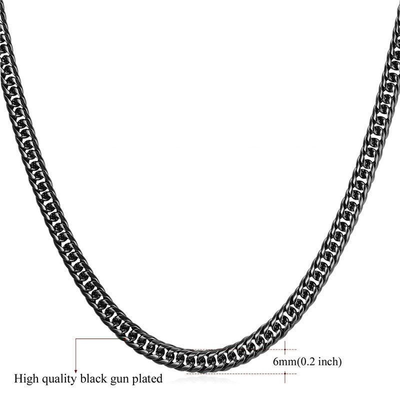 U7 Big Chunky HipHop Gold Chain For Men Jewelry Wholesale Yellow