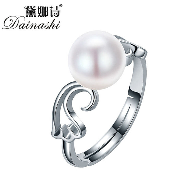 Dainashi Real Pearl Jewelry Water Drop Natural Freshwater Pearl Flower