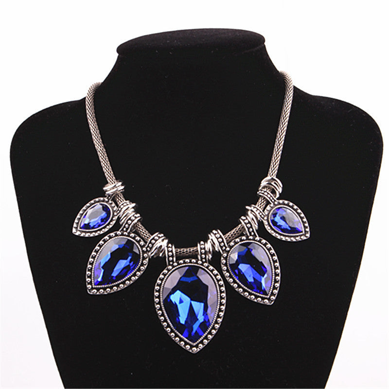 Hot New Fashion Necklace Brand Noble Link Choker Chain Statement