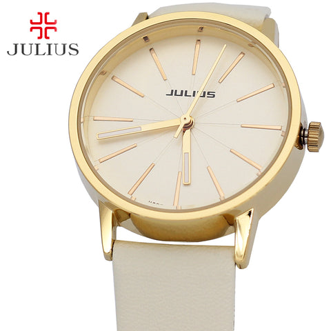Julius Men's Watch Women's Watch Japan Quartz Hours Fashion Dress