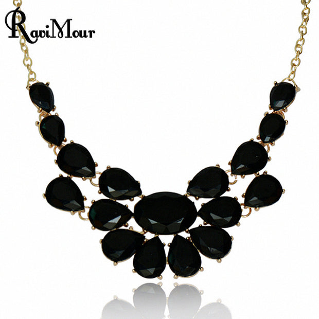 Fashion Collier Femme Jewelry Statement Collar Necklaces & Pendants