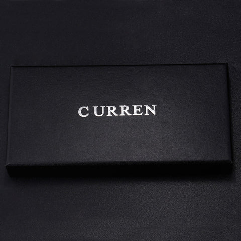 Curren Brand Watch Boxes Fashion & Casual Black Paper Case Rectangle Gift Box KREbox01
