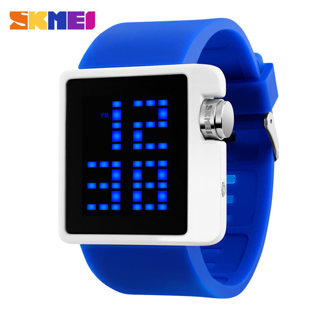 2016 SKMEI Brand Lovers Fashion Casual LED Digital Watch Men Dive