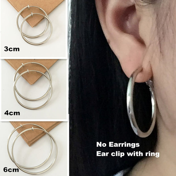 Wholesale multicolor Non pierced ear clip painless ear clip Earrings