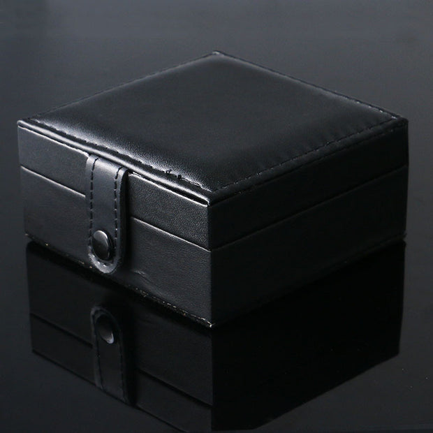 Luxury Black Square Wrist Watch Box With foam pad inside Watches Box