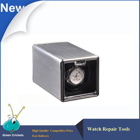 Latest classical Aluminum Alloy Automatic Watch Winder box,Ultra quiet Motor 4 Modes Watch Winder