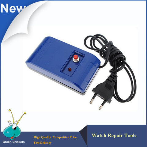 Excellent Quality 340.400 110V~220V US EU Plug Electronic Watch demagnetizer,Watch Repair Tool