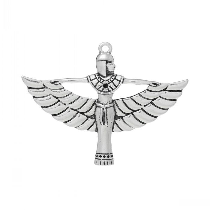 DoreenBeads Charm Pendants Egyptian Queen(Can Hold ss6