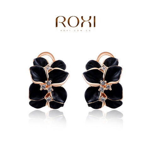 Fashion Women Elegant Gold Plated Ear Cuff Clip Earrings Lady