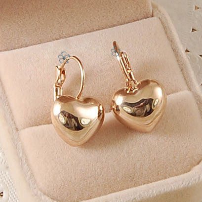 Free Shipping Italina Rigant fashion jewelry Earring Rose / white gold